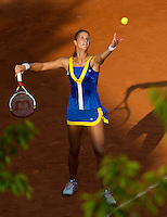 Karolina Pliskova.Tennis - Grand Slam - French Open- Roland Garros - Paris - Mon May 28th 2012...© AMN Images, 30, Cleveland Street, London, W1T 4JD.Tel - +44 20 7907 6387.mfrey@advantagemedianet.com.www.amnimages.photoshelter.com.www.advantagemedianet.com.www.tennishead.net