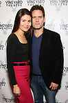 """Phillipa Soo and Steven Pasquale during the Opening Night Celebration for """"Good Grief"""" at the Vineyard Theatre on October 28, 2018 in New York City."""