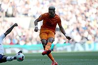 Joelinton of Newcastle United scores the first goal during Tottenham Hotspur vs Newcastle United, Premier League Football at Tottenham Hotspur Stadium on 25th August 2019