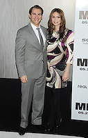 """Michael Stuhlbarg and guest attending the """"Men In Black 3"""" New York Premiere, held at the Ziegfeld Theater in New York City on 23.05.2012.credit: Jennifer Graylock/face to face.- No Italy, UK, Australia, France -"""