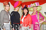 Susan Moriarty, Killarney, Emer Nash, Limerick, Rose Stern, Cork, Emer Irwin O'Shea, Killorglin pictured at Listowel races on Sunday.