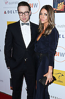 SANTA MONICA, CA, USA - OCTOBER 26: Andrew Ryan, Rebecca Murphy arrive at the 3rd Annual Australians in Film Awards Benefit Gala held at the Starlight Ballroom at Fairmont Miramar Hotel & Bungalows on October 26, 2014 in Santa Monica, California, United States. (Photo by Xavier Collin/Celebrity Monitor)