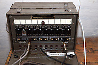 Portable military field switchboard used for telecommunications in Hitler's underground Bunker. Konewka Central Poland