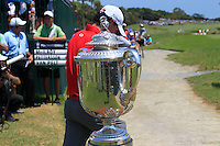 Rory McIlroy (NIR) walks to the 1st tee to start his match Sunday's Final Round of the 94th PGA Golf Championship at The Ocean Course, Kiawah Island, South Carolina, USA 11th August 2012 (Photo Eoin Clarke/www.golffile.ie)