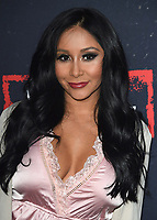 "WEST HOLLYWOOD, CA - MARCH 29:  Nicole Polizzi at the ""Jersey Shore Family Vacation"" Global Premiere at HYDE Sunset: Kitchen + Cocktails on March 29, 2018 in West Hollywood, California. (Photo by Scott KirklandPictureGroup)"