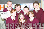 Challenge: Enjoying the Reading Challenge presentation day at St Joseph's on .Thursday were pupils of St Joseph's National School front l-r Norma .Houlihan, Muireann Beasley and Maebh Ferriter. Back l-r Brendan Kennelly, .Aaron Downey, Patrick Allen and Neilus Mulvihill of Scoil Pio Naofa..   Copyright Kerry's Eye 2008