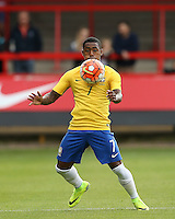 Malcom of Brazil during the International match between England U20 and Brazil U20 at the Aggborough Stadium, Kidderminster, England on 4 September 2016. Photo by Andy Rowland / PRiME Media Images.