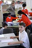 Haringey LEA's Woodcroft Junior School, Mill Hill, London.