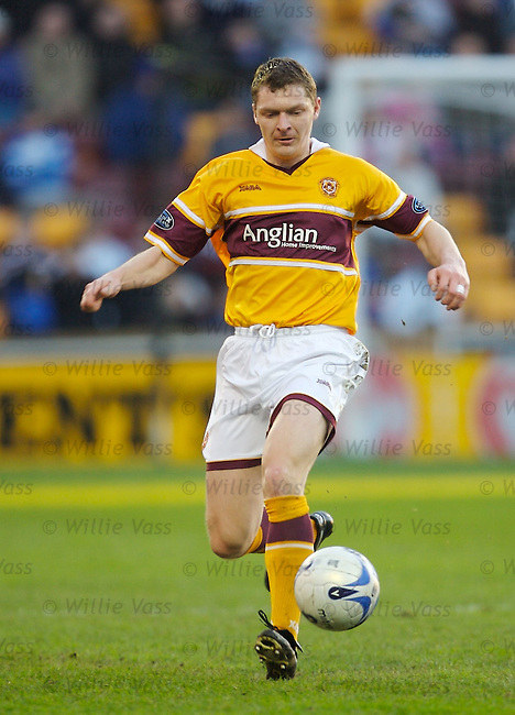 Martyn Corrigan, Motherwell.stock season 2006-2007.pic willie vass