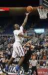 Shabazz Muhammad shoots over Douglas defender Nathan Von Ahsen during a semi-final game in the NIAA 4A State Basketball Championships between Bishop Gorman and Douglas high schools at Lawlor Events Center in Reno, Nev, on Thursday, Feb. 23, 2012. .Photo by Cathleen Allison