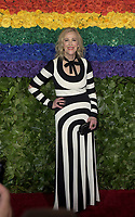 NEW YORK, NEW YORK - JUNE 09: Catherine O'Hara attends the 73rd Annual Tony Awards at Radio City Music Hall on June 09, 2019 in New York City. <br /> CAP/MPI/IS/JS<br /> ©JSIS/MPI/Capital Pictures