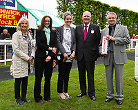 Sponsors of The Priority Mailing & Digital Print Claiming Stakes during Afternoon Racing at Salisbury Racecourse on 18th May 2017