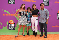 LOS ANGELES, CA July 13- Guests, At Nickelodeon Kids' Choice Sports Awards 2017 at The Pauley Pavilion, California on July 13, 2017. Credit: Faye Sadou/MediaPunch