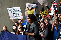 Vote No on Kavanaugh  demonstration Boston MA 10.1.18