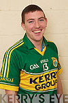 Niall OShea member of the Kerry U-21 panel 2012