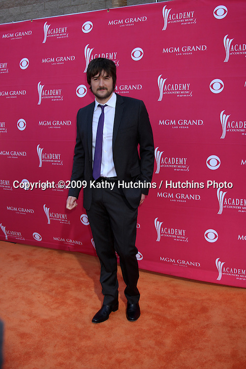 Eric Church arriving at the 44th Academy of Country Music Awards at the MGM Grand Arena in  Las Vegas, NV on April 5, 2009.©2009 Kathy Hutchins / Hutchins Photo....                .