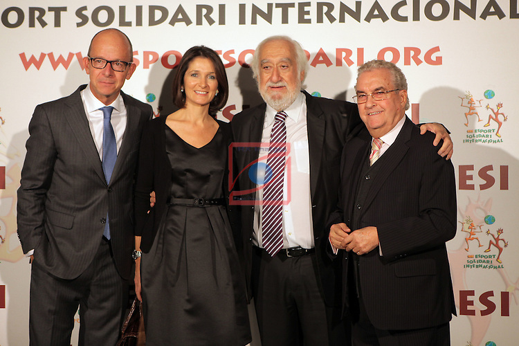 XIe Sopar Solidari d'ESI (Esport Solidari Internacional).<br /> Josep Maldonado, Jordi Cardoner &amp; Amador Bernabeu,