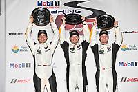 2017 IMSA WeatherTech SportsCar Championship<br /> Mobil 1 Twelve Hours of Sebring<br /> Sebring International Raceway, Sebring, FL USA<br /> Saturday 18 March 2017<br /> 3, Chevrolet, Corvette C7.R, GTLM, Antonio Garcia, Jan Magnussen, Mike Rockenfeller<br /> World Copyright: Richard Dole/LAT Images<br /> ref: Digital Image RD_217_SEB583