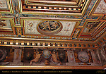 Ceiling Detail Sala di Ercole (Room of Hercules) Apartment of the Elements Palazzo Vecchio Florence