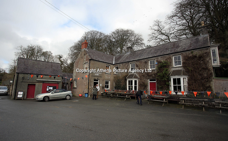 Pictured: The Cresselly Arms at Cresselly Arms pub in Cresswell Quay, Pembrokeshire, Wales, UK. Thursday 16 March 2017<br /> Re: A racehorse owned by a syndicate from Pembrokeshire which was a favourite to win at this year's Cheltenham Festival, has lost.<br /> Tobefair, a seven-year-old gelding, has won his last seven races.<br /> He was gifted as a colt to Michael Cole three years ago, in return for looking after two fillies on his farm.<br /> Unable to afford the training costs on his own, he decided to offer 50% of the ownership to people he knew through his local pub, the Cresselly Arms at Cresswell Quay Quay.<br /> The syndicate grew to 17 members but none except Mr Cole had owned a racehorse before.<br /> They said they were amazed when Tobefair started winning races and never dreamed he would make it to Cheltenham.