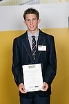 Triathlon Boys Winner - Ryan Sissons. ASB College Sport Young Sportsperson of the Year Awards 2006, held at Eden Park on Thursday 16th of November 2006.<br />