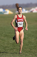20 November 2006: Arianna Lambie during the 2007 NCAA women's cross country championships in Terre Haute, IN.