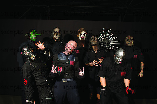 SLIPKNOT - Photosession in Paris France - 29 Jan 2015.  Photo credit: Marc villalonga/Dalle/IconicPix **UK ONLY**
