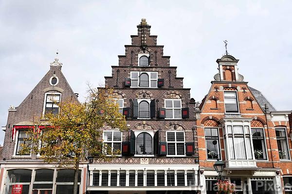 Nederland  Alkmaar -  Oktober 2018. Huizen in Alkmaar. Luttik Oudorp. Foto Berlinda van Dam / Hollandse Hoogte