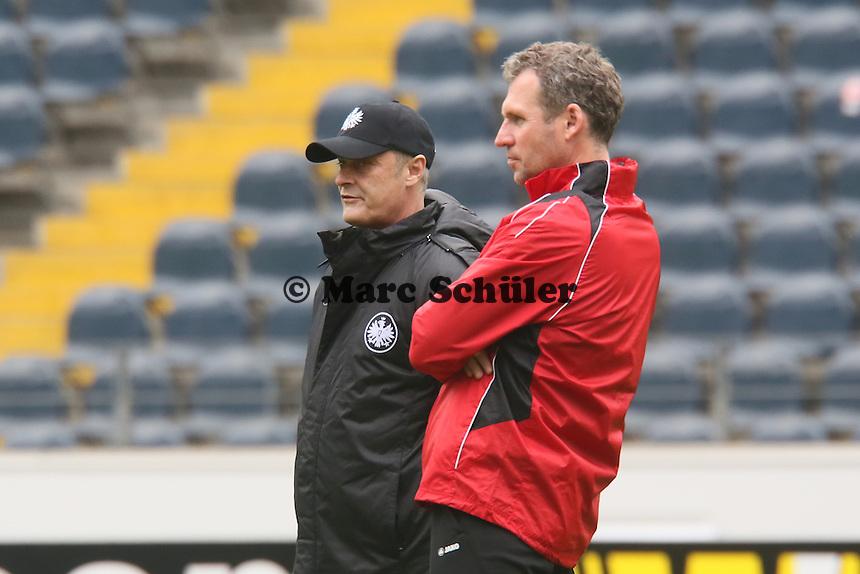 Trainer Armin Veh (Eintracht) - Eintracht Frankfurt Abschlusstraining