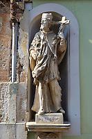 Statue, K?szeg Hungary