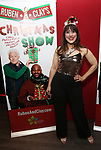 """Farah Alvin attend the Opening Night After Party for """"Ruben & Clay's First Annual Christmas Show"""" on December 11, 2018 at The Copacabana Times Square in New York City."""