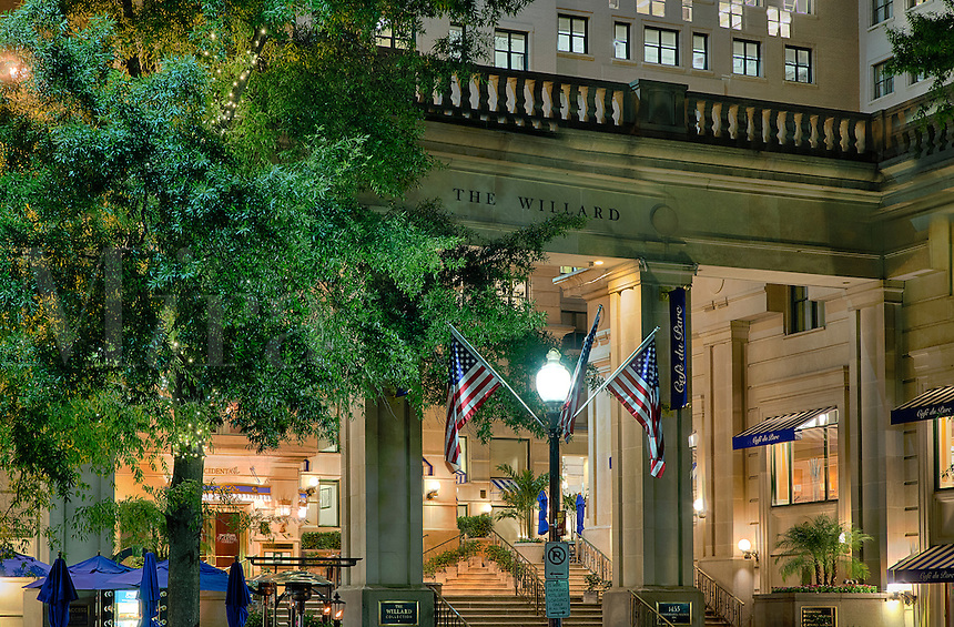 The Willard Intercontinental Hotel, Washington DC, USA