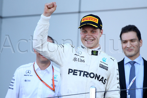 April 30th 2017, Sochi, Russia;  FIA Formula One World Championship 2017, Grand Prix of Russia, Race winner<br />