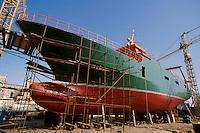 - Siciliy, shipyard in the fishing port of Mazara del Vallo<br /> <br /> - Sicilia, cantiere navale nel porto peschereccio di Mazara del Vallo