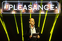 Edinburgh, UK. 08.08.2015. The Pleasance hosts its Opening Gala at the start of the Edinburgh Festival Fringe. The line-up includes: Hal Cruttenden (compere), Love Birds the musical, Jess Robinson, Young Pleasance, Theatre Re, Joe Lycett and Balletronic - just a selection from the many shows across all Pleasance venues. Picture shows: Anthony Alderson, director of The Pleasance. Photograph © Jane Hobson.