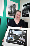 Alison Rock with her photo at the Photo Exhibition in the Connect Family Resource Centre, Moneymore...Photo NEWSFILE/Jenny Matthews.(Photo credit should read Jenny Matthews/NEWSFILE)....This Picture has been sent you under the condtions enclosed by:.Newsfile Ltd..The Studio,.Millmount Abbey,.Drogheda,.Co Meath..Ireland..Tel: +353(0)41-9871240.Fax: +353(0)41-9871260.GSM: +353(0)86-2500958.email: pictures@newsfile.ie.www.newsfile.ie.FTP: 193.120.102.198.