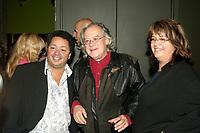 Normand Brathwaite (L) Raoul Duguay (R) at <br /> Richard Seguin album launch<br /> Photo (c)  by Proulx / Images Distribution
