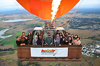 20120625 June 25 Hot Air Balloon Gold Coast