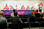 LONDON, ENGLAND 08/28/2012:  Team Canada Preview press conference before the London 2012 Paralympic Games at the Main Press Centre. (Photo by Matthew Murnaghan/Canadian Paralympic Committee)
