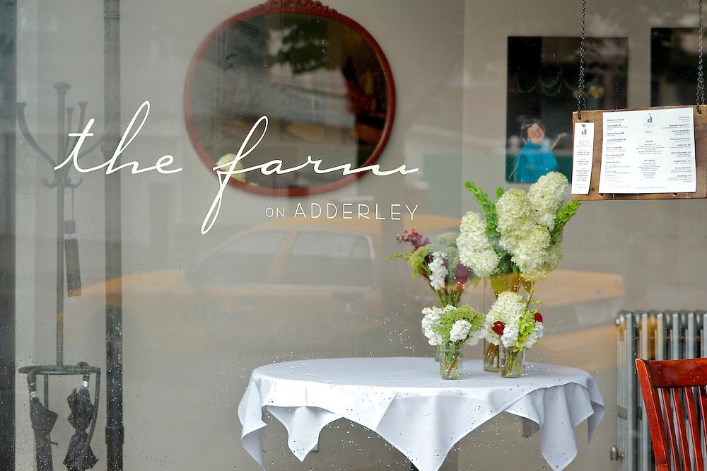 A wedding at The Farm on Adderley restaurant in Brooklyn.