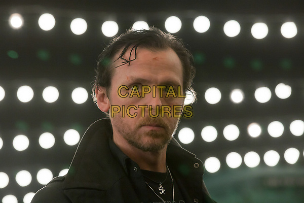The World's End (2013) <br /> Simon Pegg<br /> *Filmstill - Editorial Use Only*<br /> CAP/KFS<br /> Image supplied by Capital Pictures