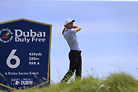 Ross Fisher (ENG) tees off the 6th tee during Thursday's Round 1 of the Dubai Duty Free Irish Open 2019, held at Lahinch Golf Club, Lahinch, Ireland. 4th July 2019.<br /> Picture: Eoin Clarke | Golffile<br /> <br /> <br /> All photos usage must carry mandatory copyright credit (© Golffile | Eoin Clarke)