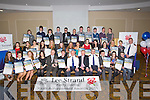 AWARDED: The young people from Kerry who were rewarded with their merit of certificate, certifice of destinction and overall winner with members of the Gardai and Leestrand ather were presented to them at the Lee Strand- Garda Youths Award in The Brandon Hotel Tralee on Friday night.....