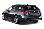 Car pictures of rear three quarter view of 2017 BMW 3-Series 328d-Sports-Wagon 5 Door Wagon Angular Rear