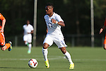 22 May 2014: USA Under-20's Kainoa Bailey. The Under-20 United States Men's National Team played a scrimmage against the Carolina RailHawks Under-23 team at Koka Booth Stadium at WakeMed Soccer Park in Cary, North Carolina. The United States Under-20s won the game 1-0.