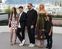 Nicole Kidman, Yorgos Lanthimos, Raffey Cassidy, Barry Keoghan &amp; Sunny Suljic at the photocall for &quot;The Killing of a Sacred Deer&quot; at the 70th Festival de Cannes, Cannes, France. 22 May 2017<br /> Picture: Paul Smith/Featureflash/SilverHub 0208 004 5359 sales@silverhubmedia.com