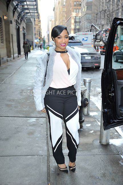 WWW.ACEPIXS.COM<br /> <br /> February 18 2015, New York City<br /> <br /> Reginae Carter made an appearance at the 'Wendy Williams Show' on February 18 2015 in New York City<br /> <br /> By Line: Curtis Means/ACE Pictures<br /> <br /> <br /> ACE Pictures, Inc.<br /> tel: 646 769 0430<br /> Email: info@acepixs.com<br /> www.acepixs.com