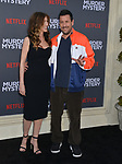 "Jennifer Aniston, Adam Sandler 033 arrives at the LA Premiere Of Netflix's ""Murder Mystery"" at Regency Village Theatre on June 10, 2019 in Westwood, California"