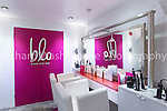 C&amp;S Ltd  Blo Hairdressers, Covent Garden, London  9th December 2014<br /> <br /> Photo: Richard Washbrooke Sports Photography