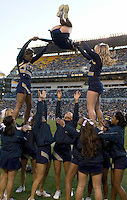 October 25, 2008: Pitt cheerleaders. The Rutgers Scarlet Knights defeated the Pitt Panthers 54-34 on October 25, 2008 at Heinz Field, Pittsburgh, Pennsylvania.
